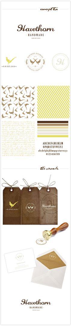Brand Identity for Hawthorn Handmad