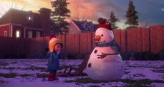 lily and the snowman
