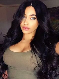 Nice Hair Body Wave Hair 360 Lace Wigs Brazilian Human Hair Wigs Density Bleached Knots Baby Hair Around Pre-Plucked Remy Human Hair, Human Hair Extensions, Human Hair Wigs, Remy Hair, Remy Wigs, Weave Hairstyles, Pretty Hairstyles, Frontal Hairstyles, Curly Hair Styles