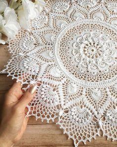 Crochet Potholders, Crochet Doilies, Knit Crochet, Knitting Patterns, Crochet Patterns, Crochet Mandala Pattern, Crochet Basics, Linen Bedding, Pot Holders