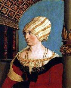 Porträt Dorothea Meyer, geb. Kannengießer / holbein d. Jüngere