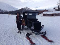1924 Model T Snow Plow