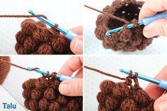 Bobby Pins, Crochet Necklace, Hair Accessories, Beauty, Material, Mandala, Hedgehog, Crochet Stuffed Animals, Hairpin