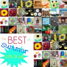 Boredom shall not come this summer when you consult 33 Art Crafts for Kids: Summer Activities for Kids to Do. Keep busy and creative this summer with the best list of summer crafts for kids. Summer Crafts For Kids, Summer Activities For Kids, Summer Kids, Craft Activities, Art For Kids, Children Activities, Summer Art, Diy Crafts To Do, Cute Crafts