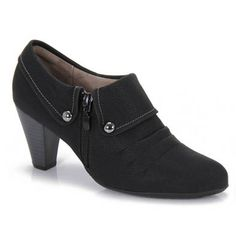 Sapato Feminino Piccadilly 640040 - Preto