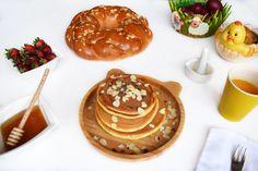 Panna Cotta, Pancakes, Easter, Hands, Healthy, Ethnic Recipes, Food, Pancake, Essen