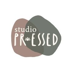 Logo & Branding Design for studio PR.essed, a creative business using herbs and flowers to create meaningful products inspiring connection with nature. Logo Branding, Branding Design, Logo Design, Logos, Creative Business, Studio, Connection, Herbs, Inspiration
