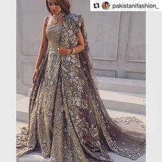 #Repost @pakistanifashion_ with @repostapp ・・・ Republic Womenswear. #RepublicWomenswear @republicwomenswear #AlyzehGabol @alyzehgabol #pakistanifashion #bride #bridalcouture #fashionpost #wedding