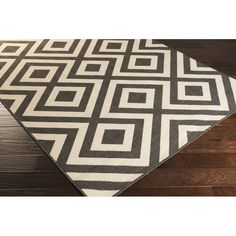 You'll love the Braxton Black Area Rug at AllModern - With Great Deals on modern Décor  products and Free Shipping on most stuff, even the big stuff.