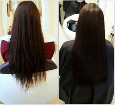 Prostowanie keratynowe. #hair #włosy #prostowanie