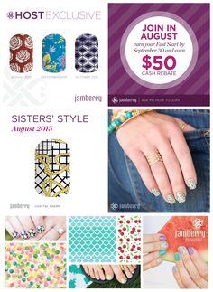 Check out all of the exclusive wraps that are only available the month of AUGUST! Host your own party, join my team, or grab the Sisters' Style Exclusive for your stash! #exclusive #sistersstyleexclusive #hostaparty #joinmyteam https://glamjamkh.jamberry.com