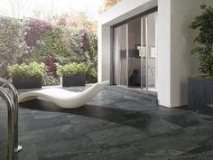 suelos de exterior - pavimentos cerámicos de Porcelonosa