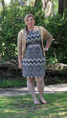 Ikat Patterned Dress