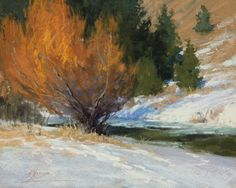 Ablaze by Kim Lordier Pastel ~ 8 x 10