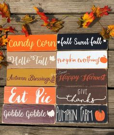 Rustic fall signs Rustic fall decoration Rustic fall decor Thanksgiving decor Thanksgiving signs Small wreath signs Give thanks sign - Thanksgiving Messages Thanksgiving Messages, Thanksgiving Signs, Fall Crafts, Holiday Crafts, Fall Craft Fairs, Fixer Upper, Pumpkin Farm, Pumpkin Crafts, Rustic Fall Decor