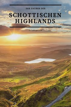 Rundreise durch die schottischen Highlands What comes to mind when you think of the Scottish Highlands? Beautiful Places In England, Day Trips From London, Reisen In Europa, Round Trip, Scottish Highlands, Scotland Travel, Travel Themes, Nightlife Travel, Culture Travel