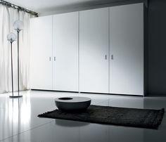 The Coplanar Wardrobe Collection - ARAN Italian Kitchens Wardrobe Systems, Closet System, Wardrobe Closet, Double Vanity, Tall Cabinet Storage, Kitchen Cabinets, Italian Kitchens, House, Wardrobes