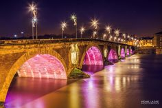 Toulouse By Night by Mickael Lalevée on 500px