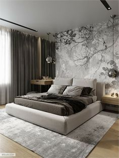 40 Perfect Bedroom Design Ideas That Inspire You - 40 Perfect Sleep . - 40 Perfect Bedroom Design Ideas That Inspire You – 40 Perfect Bedroom Design Ideas That Inspire Y - Luxury Bedroom Design, Bedroom Bed Design, Home Room Design, Home Decor Bedroom, Home Interior Design, Bedroom Ideas, Master Bedroom, Bedroom Designs, Master Suite