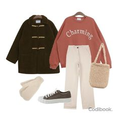 Kpop Fashion Outfits, Ulzzang Fashion, Korean Outfits, Retro Outfits, Simple Outfits, Hijab Fashion, Stylish Outfits, Cool Outfits, Outing Outfit