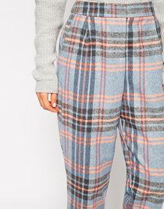 Enlarge ASOS Peg Trouser In Check