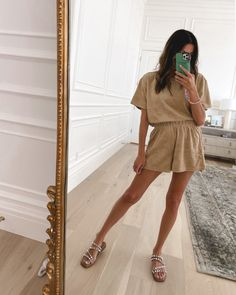 6 Ways to Wear Your Matching Sets This Summer Hello Fashion Blog, Nude Shorts, Oversized Blazer, White Tees, Summer Wardrobe, Casual Looks, Black Tops, Spring Fashion, Shirt Dress