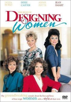 Annie Potts, Delta Burke, Jean Smart, and Dixie Carter in Designing Women 80 Tv Shows, Great Tv Shows, Movies And Tv Shows, 1990s Tv Shows, Jean Smart, Designing Women, Dixie Carter, Mejores Series Tv, Childhood Tv Shows