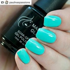 #Repost @paulinaspassions with @repostapp ・・・ On My Way by @madam_glam another stunning and beautiful color! 💙