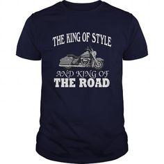 Cool Harley Davidson Road King T-Shirts