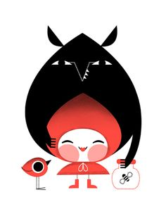 LITTLE RED RIDING HOOD ▲ ROBIN HOOD Algo sobre cuentos clásicos. Something about classic tales