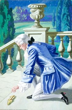 Cinderella -- The Prince and the slipper -- High quality art prints, framed prints, canvases -- Ladybird Prints