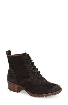 3c357568ece Lucky Brand  Giorgia  Lace Up Bootie (Women)
