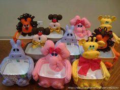 potes de sorvete decorado