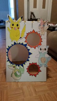 Pokemon bean bag toss