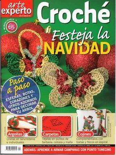 Delicadezas en crochet Gabriela: Arte en navidad paso a paso