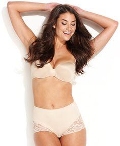 38ebc4c8a5 Jockey Slimmers Light Control Lace Brief 4154   Reviews - Shapewear - Women  - Macy s