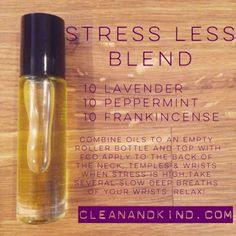 Stress less blend