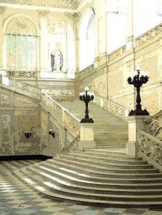 'Architektur-Juwel Foyertreppe' von Dirk h. Wendt bei artflakes.com als Poster oder Kunstdruck $22.17