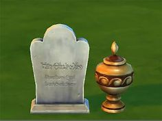 Mod The Sims - Buyable Graves - Updated