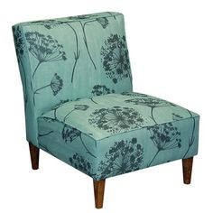 I pinned this Queen Anne's Lace Accent Chair from the DIY Showoff event at Joss and Main! The beautiful Queen Anne's Lace Accent Chair brings a pop of style to your bedroom or living room décor, featuring decadently deep cushioning and an elegant floral motif.