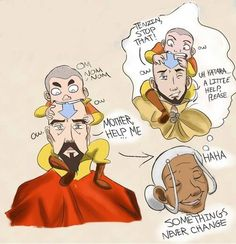 Avatar: The Last Airbender and The Legend of Korra - Oh gosh, this really satisfied my heart...