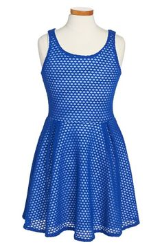 Sally+Miller+Circle+Lace+Sleeveless+Skater+Dress+(Big+Girls)+available+at+#Nordstrom