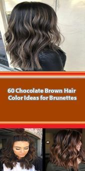 25 Gorgeous Winter Chocolate Brown Hair Colors to Copy Right Now Had enough of your old hair color! And if you're thinking of changing your hair color? Before you hit the hair bar, be sure. Color Your Hair, Hair Color Dark, Brown Hair Colors, Dark Hair, Hair Colour, Caramel Brown Hair, Chocolate Brown Hair Color, Spring Hairstyles, Hairstyles With Bangs