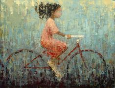 Rebecca  Kinkead - Bicycle #6- Oil - Painting entry - December 2012 | BoldBrush Painting Competition