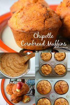 Chipotle Cornbread Muffinsare not your usual type. Chipotle chiles impart a deep flavor and enhances the flavor of corn.