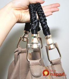 Dámy, vyzerá rúčka na vašej kabelke takto? Nevyhadzujte ju - super trik, s ktorým bude vyzerať opäť perfektne a poslúži vám ešte celé mesiace!