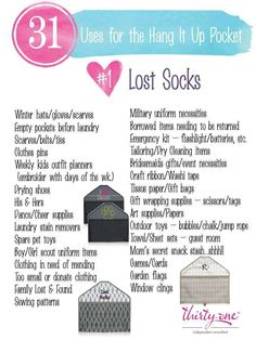 31 uses for thirty one www.mythirtyone.com/apeterson86
