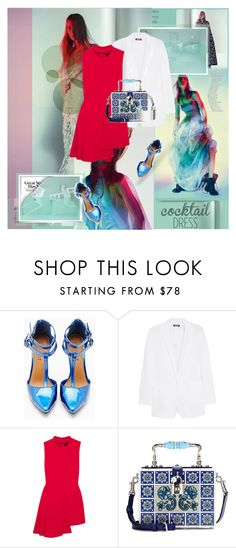 """""""..."""" by margarita96 ❤ liked on Polyvore featuring Shoe Cult, DKNY, Versace, Dolce&Gabbana and Dinh Van"""