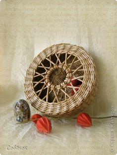 Master class Handicraft product Braids Weave Paper Newsprint Paper Straws 11 photos