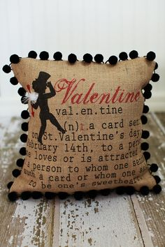 Sweet Valentine Pillow